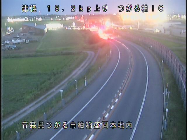 つがる柏IC 津軽自動車道(浪岡五所川原道路)