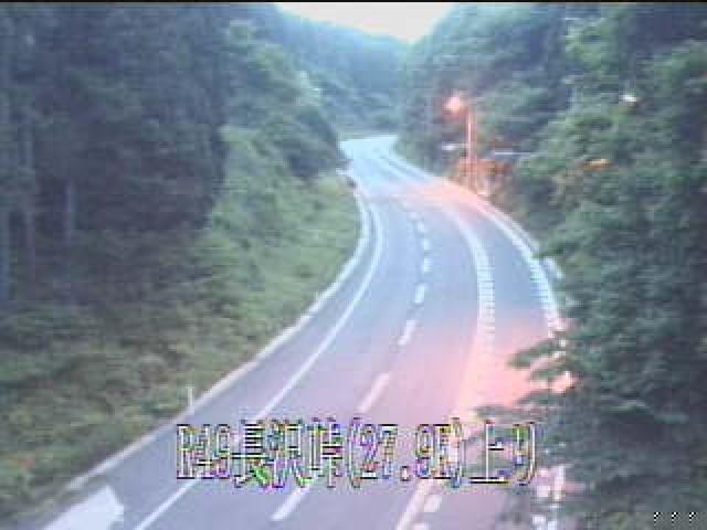 道路画像情報:長沢峠(いわき市)