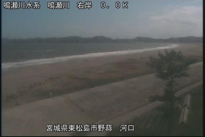 鳴瀬川:鳴瀬川河口