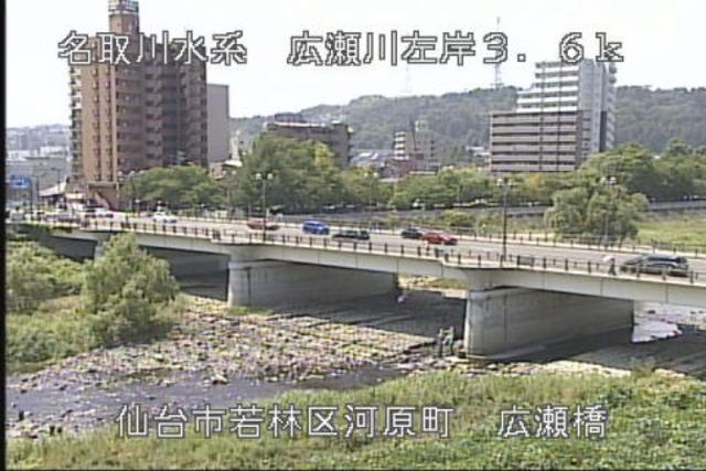 広瀬橋水位観測所