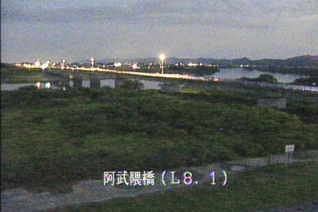 阿武隈橋左岸