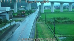 西川町 睦合[山形県 国道112号]ライブカメラ